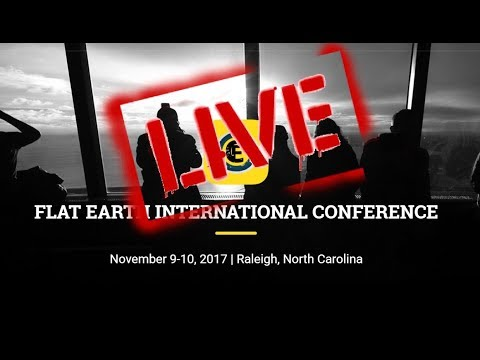 Flat Earth International Conference 2017 Part 1 Robbie Davidson and D.Marble