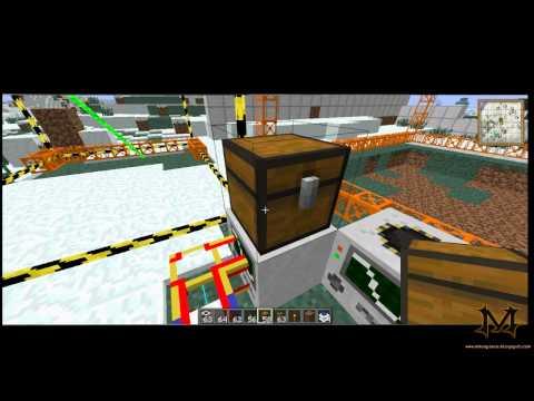 Tutorial Buildcraft #4 - Quarry e Landmarks