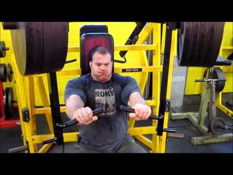 Derek Poundstone Trains Chest and Back