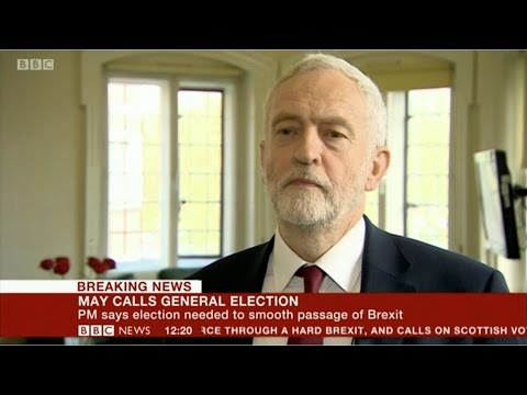 Jeremy Corbyn | BBC Interview | Labour welcomes the General Election