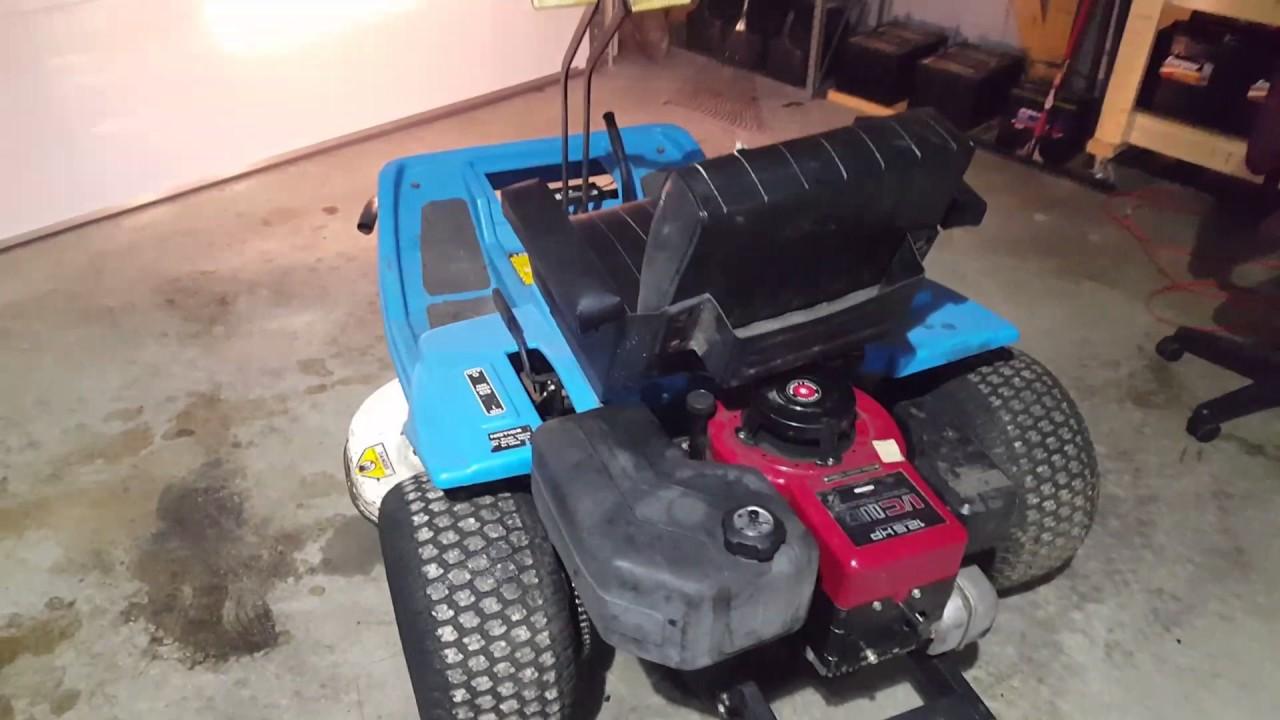 Dixon Zero Turn With A New Engine