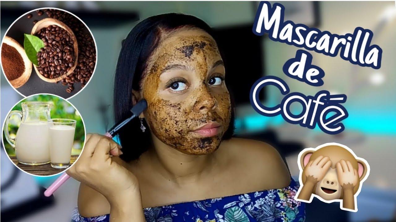 como hacer mascarilla de cafe para el acne