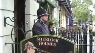 長年の夢だった敬愛するシャーロック・ホームズの聖地 221B Baker St...