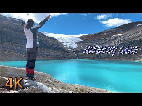 Fantasy Iceberg Lake And Bow Glacier Falls 2020, Banff National Park, Alberta, Canada