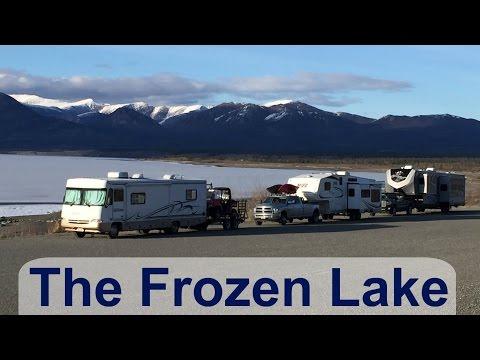 North to Alaska 2016: The Frozen Lake [North American Road Trip #113]