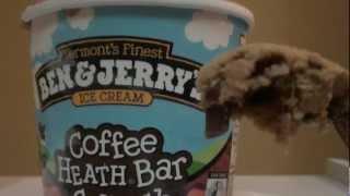 Eating/Whisper: Ben & Jerry's Coffee Heath Bar Crunch
