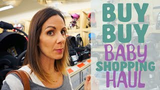 SHOP WITH ME AT BUY BUY BABY!/ HAUL