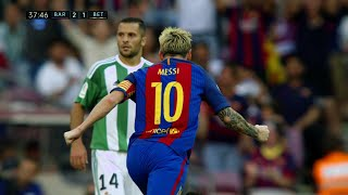 Lionel Messi vs Real Betis (Home) 16-17 HD 720p - English Commentary