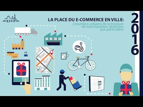 Conférence Études Urbaines - La place du e-commerce en ville (19 Janvier 2016)