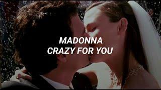 Madonna - Crazy For You (Sub Español) [13 Going on 30]