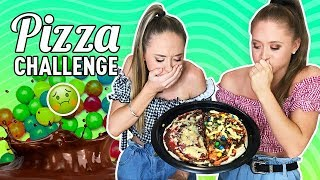 Pizza Challenge!  The Rybka Twins