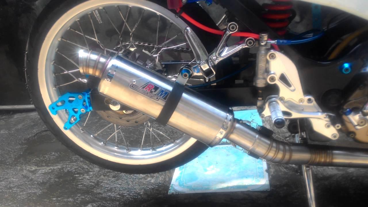 Test Knalpot Rjm Satria Fu Youtube R9 Racing Assen Stainless Yamaha Scorpio Honda Tiger Exhaust
