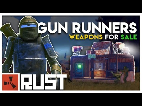 Running a GUN SHOP in a WARZONE - Rust Gun Runners