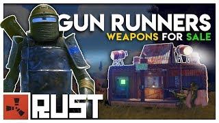 Running a GUN SHOP in a WARZONE - Rust Gun Runners thumbnail