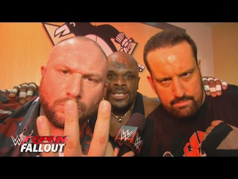 The Dudley Boyz can always count on Tommy Dreamer: Raw Fallout, November 30, 2015