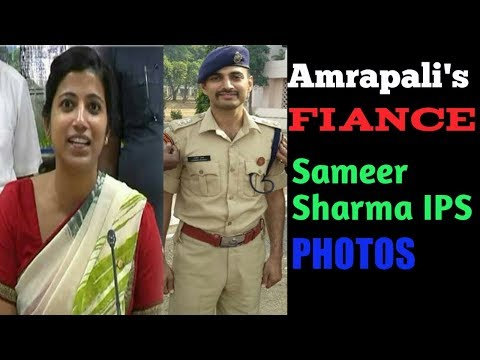 Amrapali's fiance ips sameer sharma photos unseen training time,friends and family   love marriage