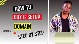 How to Buy & Setup a Domain Name | Benefits | Step By Step 2021