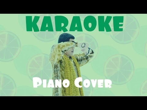 KARAOKE I like OJ (Orange Juice) - PIKOTARO (Piano Cover) ピコ太郎