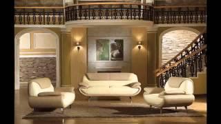 Divani Casa 2812   Modern Bonded Leather Sofa Set