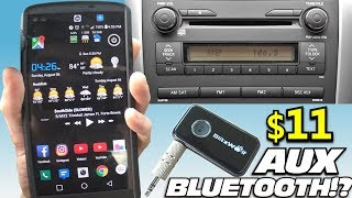 How To Add Bluetooth to Car Stereos & OLD Home Audio Recievers w/ Blitzwolf AUX Headphone Jack