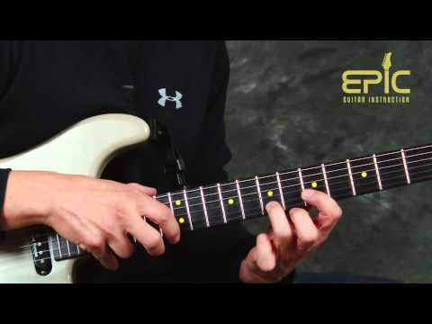 Rock Guitar song lesson learn Van Halen Hot For Teacher pt1 no tabs needed w/chords rhythms