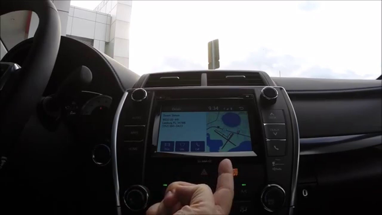 2016 Toyota Camry Scout GPS Demo