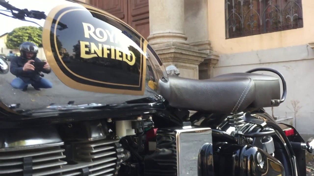 Royal Enfield Classic 500 Walkaround And Sound Youtube