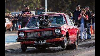 Insane 1700hp Blown Holden Torana Hatch