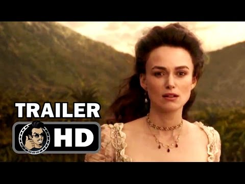 Thumbnail: PIRATES OF THE CARIBBEAN 5 International Trailer #2 (2017) Keira Knightley Disney Movie HD