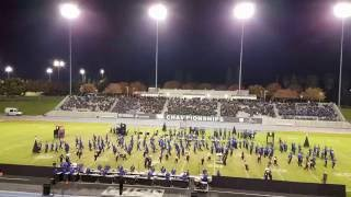 san marcos knight regiment marching band performing the big picture for wba championship 11 19 2016