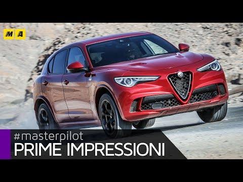 Alfa Romeo Stelvio Quadrifoglio   E' un DIAVOLO   Primo test [ENGLISH SUB]