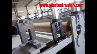 Co Extrusion Three Layers Wpc Board Machine Line