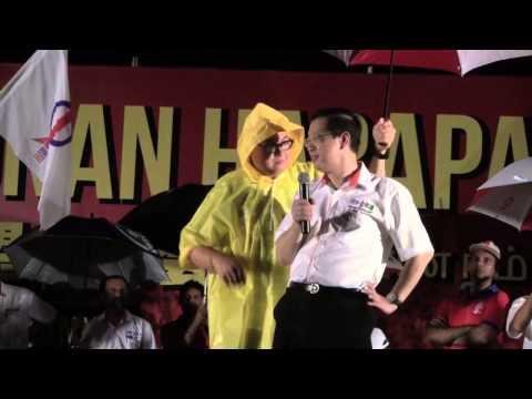 70,000 strong Pakatan Rakyat supporters at Han Chiang College a new record