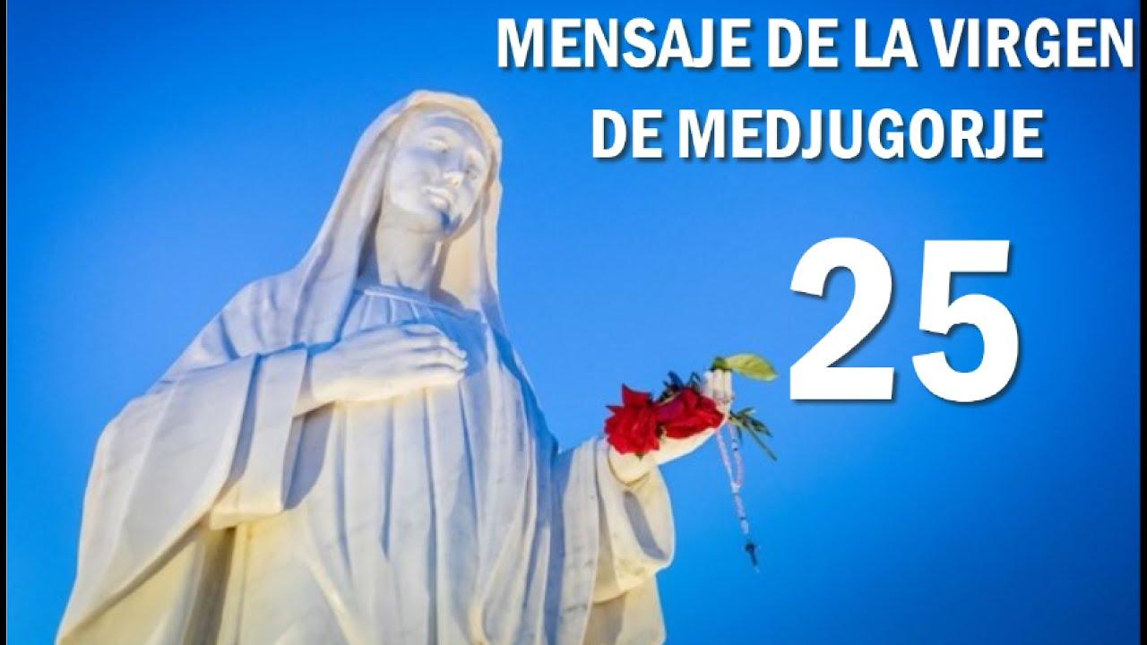 Download Ultimo Mensaje de la Virgen de Medjugorje 25 de Octubre a la vidente Marija en Bosnia Herzegovina
