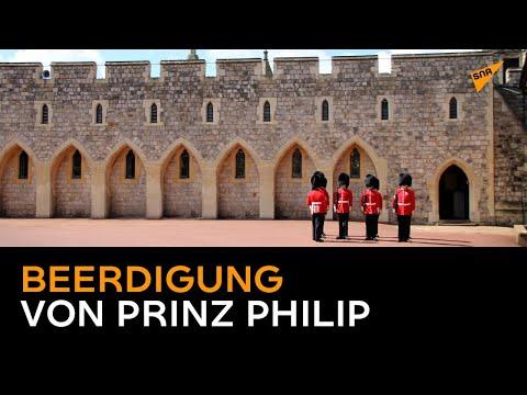 Live aus Windsor: Beerdigung von Prinz Philip