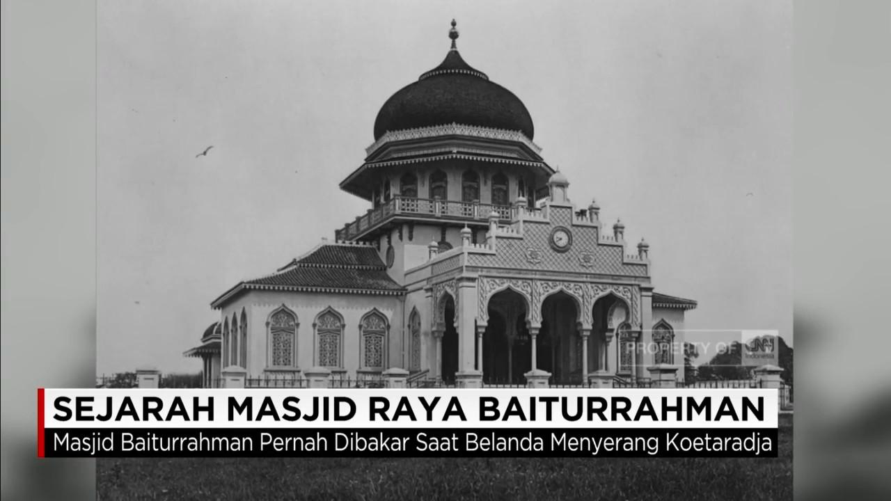 Sejarah Masjid Raya Baiturrahman Youtube