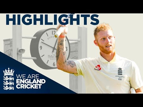 Sensational Stokes 135* Wins Match | The Ashes Day 4 Highlig