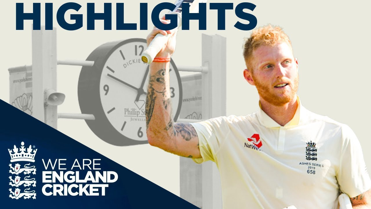 Download Sensational Stokes 135* Wins Match | The Ashes Day 4 Highlights | Third Specsavers Ashes Test 2019
