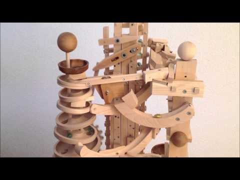 "Paul's marble machine ""Etagen"" (floors)"