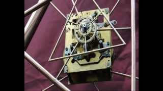 Shifting time a steampunk sculpture
