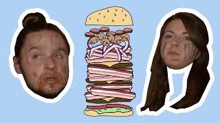 Le Sac de Chips s'empiffre d'un immense burger thumbnail