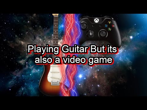 Playing Guitar But It's Also A Video Game?! (Rocksmith) |
