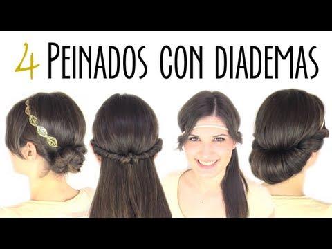 Peinados fáciles y rápidos con diadema