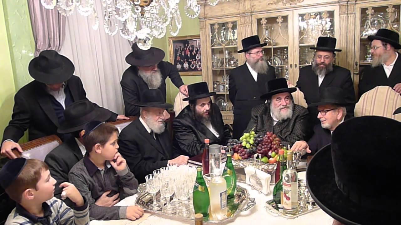 Admor M'Viznitz visit by Reb Avrohom Schoenberger in Borough Park
