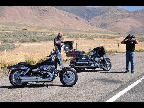 8. Harley ride, Oregon to Elko, Nevada