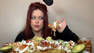 Loaded Chili Cheese Nachos!! MESSY.. (Story Time) Worst Date Ever!! (Not For Kids) 💋