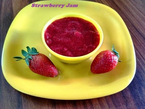 Instant Strawberry jam /strawberry spread