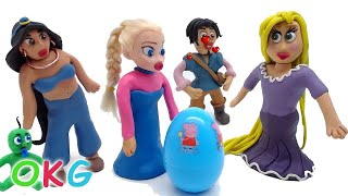 Cute Princess Stop Motion Animations Compilation Play Doh Kids Cartoons