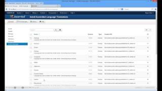 Joomla 3.1.5 Deutsch installieren