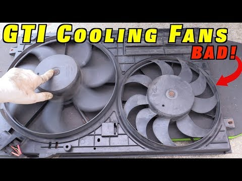 How To Replace MK5 Cooling Fans